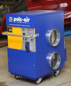 Mobilní topení Puls Air u IHR-TECHNIKA