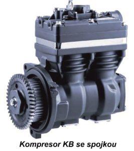Kompresor se spojkou společnosti Knorr-Bremse