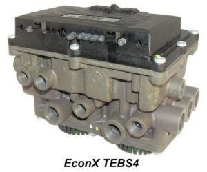 EconX TEBS4 společnosti Knorr-Bremse