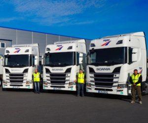 Scania předala společnosti TQM 6 nových vozidel