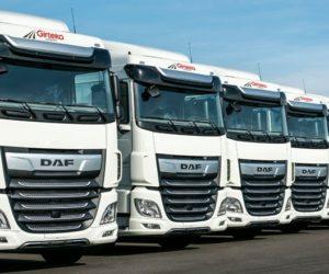 Dalších 1.500 tahačů DAF XF pro společnost Girteka Logistics