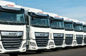 DAF XF vozy pro společnost Girteka Logistics