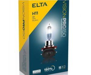 Vylepšené automobilové žárovky Elta