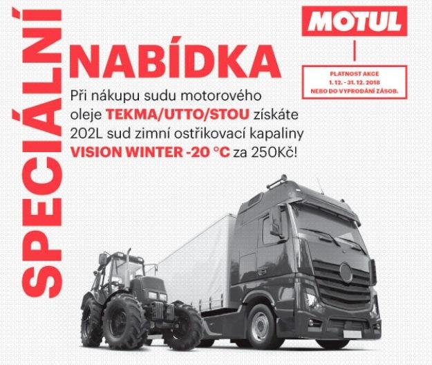 Akce na sudy oleje TekmaUtto/Stou u Inter Cars
