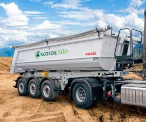 Společnost Ecosoil převzala další sklápěcí návěsy Kögel