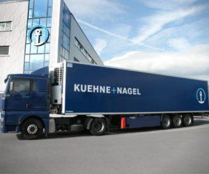Firma Kühne + Nagel spustila objednávkový portál pro dopravu