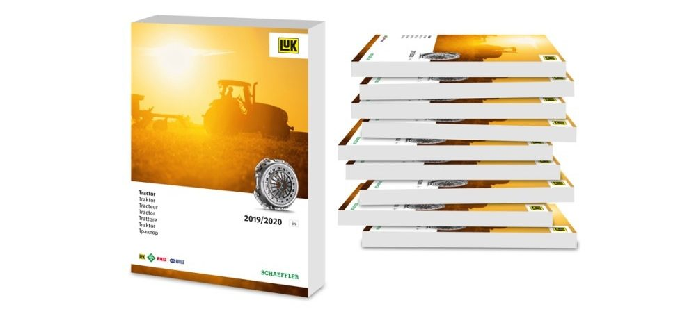 "LuK spojky pro traktory 2019/2020"" od Schaeffleru"