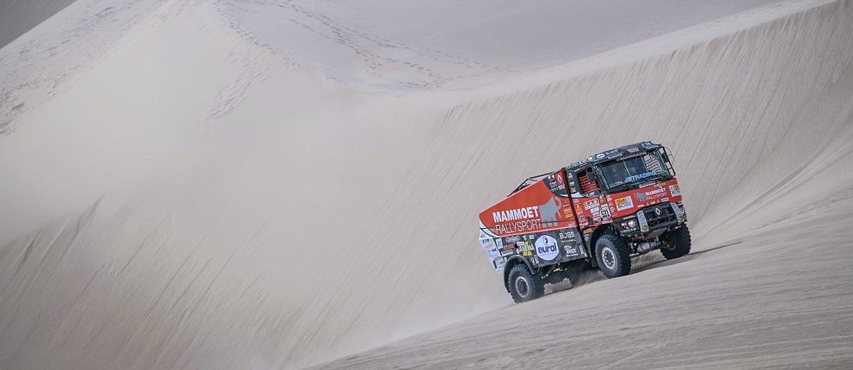 3. etapa: MKR s Van Kasterenem dojíždí na šesté pozici