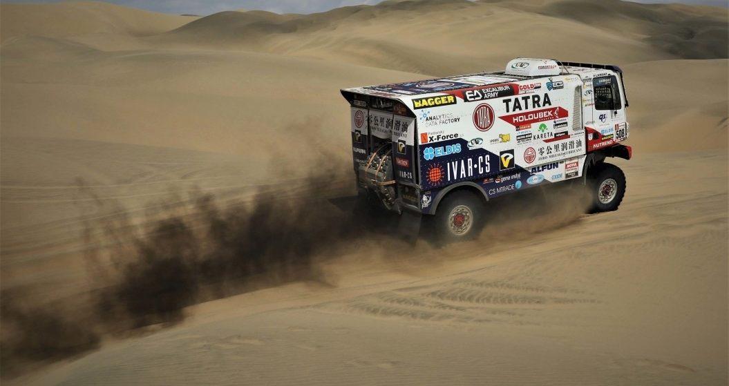 Dakar 2019: Kolomý poskočil do Top 10, Šoltys druhou etapu protrpěl