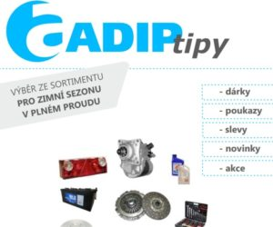 ADIP tipy: Novinky v sortimentu