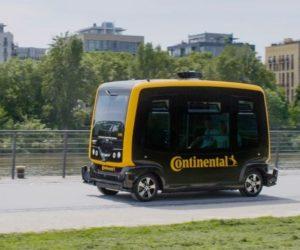Vize společnosti Continental: doručování zásilek autonomními vozidly a kurýrními roboty