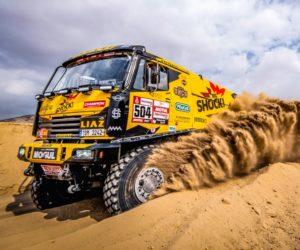 Povedená 2. etapa Dakaru: Macík bez tlumičů, Brabec bez nehod