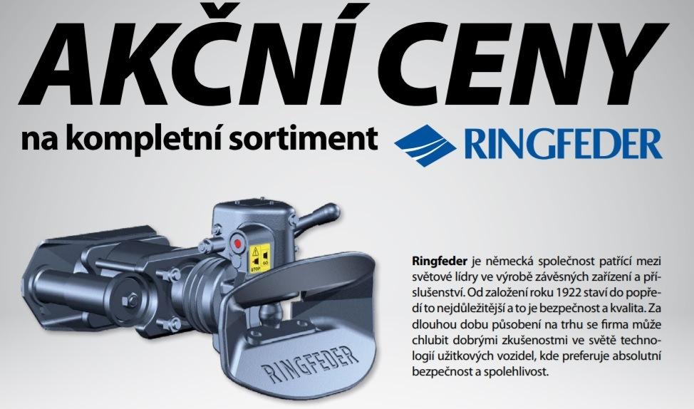 Akční ceny na kompletní sortiment Ringfeder u společnosti Elit