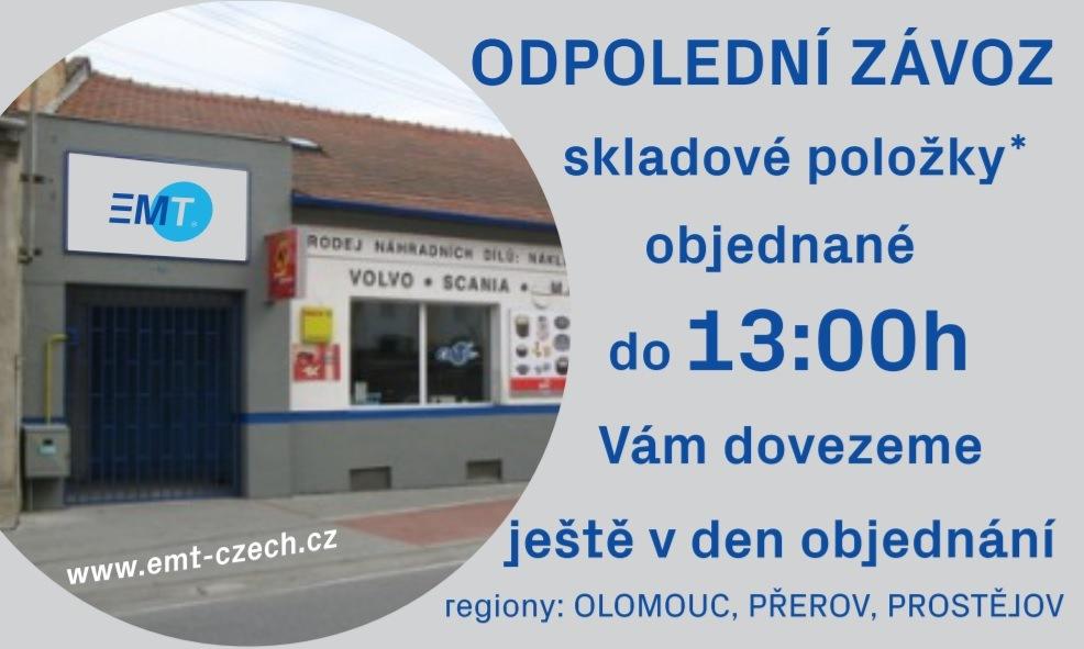 Pobočka EMT Prostějov