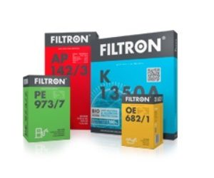 Od října 2019 naleznete pod značkou Filtron nové výrobky