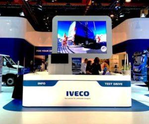 Iveco se na veletrhu Brussels Motor Show zaměřilo na udržitelné technologie