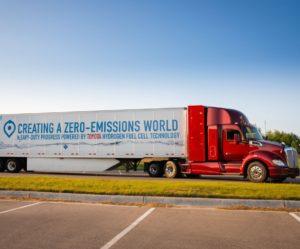 Paccar vystavuje na CES 2019 inovativní nákladní vozidla