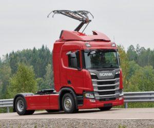 Scania dodá 15 nákladních vozidel pro německé elektrifikované dálnice
