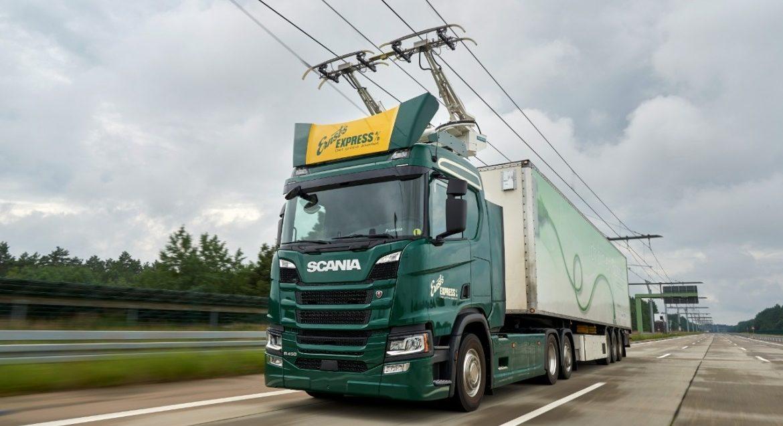 Scania vozidla pro elektrifikované dálnice