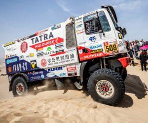 Kolomý v cíli Ralley Dakar 2019! Peklo na zemi...