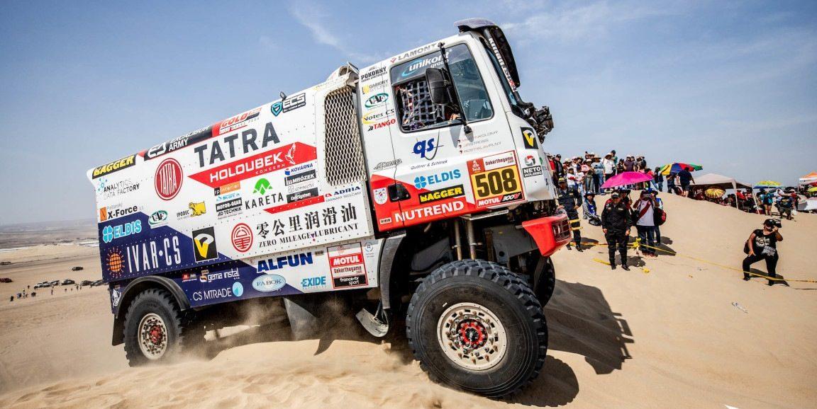 Ralley Dakar 2019 Tatra