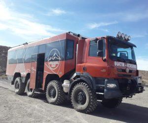 Tatrabus v tisícových výškách Jižní Ameriky