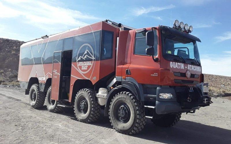 Tatrabus v Jižní Americe