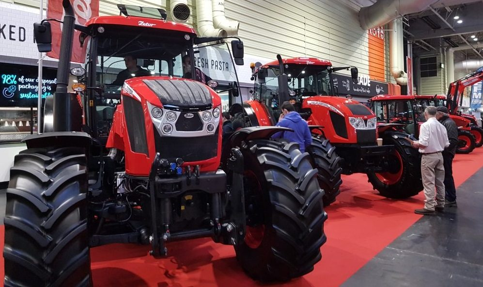 Traktory Zetor na britském veletrhu LAMMA