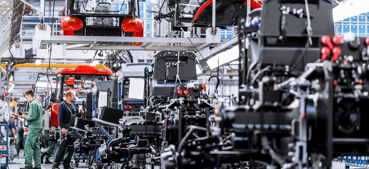 Výroba společnosti Zetor Tractors