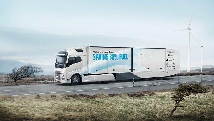 Volvo Trucks vyvíjí ekologičtější způsoby dopravy