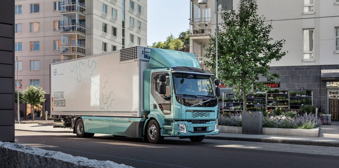 První elektrická nákladní vozidla Volvo