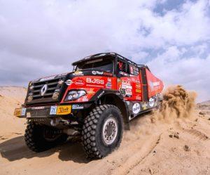 Ohlednutí se za Dakarem prostřednictvím MKR Technology