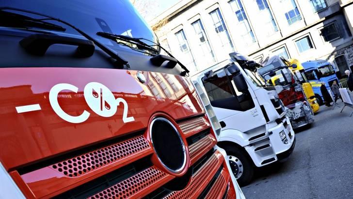 Dosažitelnost nových planů CO2 pro nákladní automobily