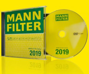 Aktualizovaný katalog MANN-FILTER nově k dispozici na DVD