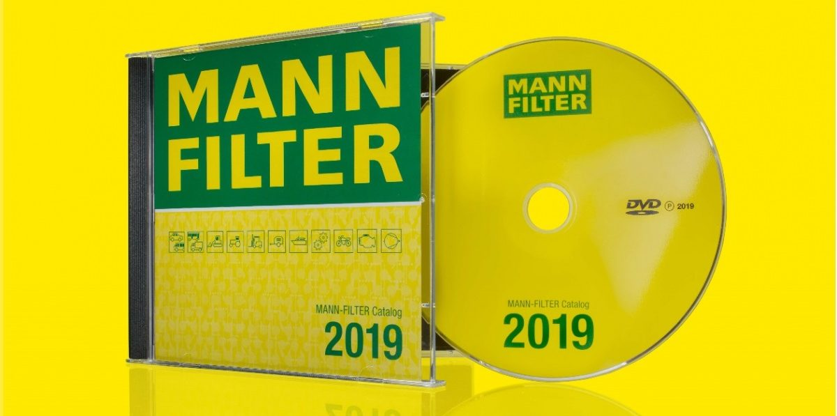 Katalog MANN-FILTER nově na DVD