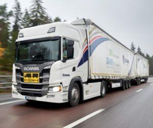 Scania Transport Laboratory přechází na nefosilní paliva