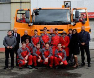 Tatra Phoenix postavená studenty poprvé nastartovala. Bude sloužit na Vysočině