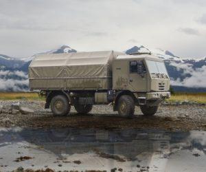 Tatra Trucks představila ve světové premiéře nový vůz modelové řady Tatra Tactic