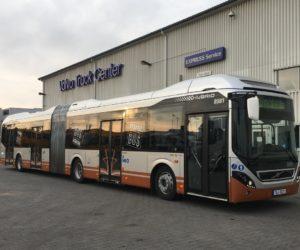 Praha bude testovat hybridní autobus Volvo 7900LAH