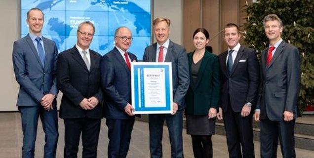 Webasto získala ocenění od TÜV SÜD Management Service