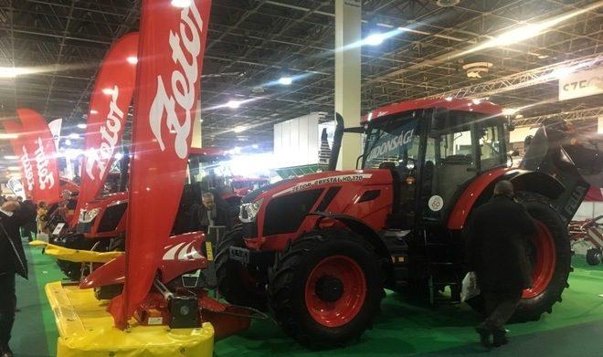 Traktory Zetor na veletrhu v Maďarsku