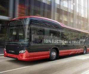 Scania a Nobina testují jako první autonomní autobusy