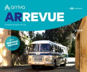 První číslo ArRevue v roce 2019