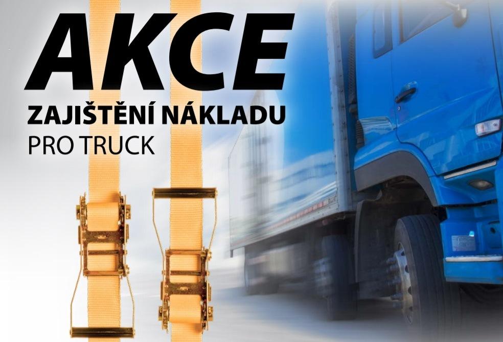 Zajištění nákladu pro truck u Elitu