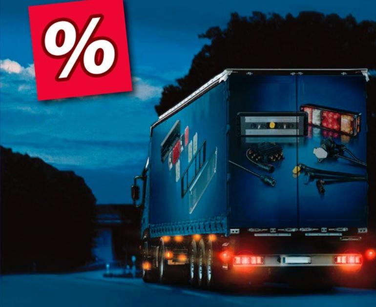 Sleva na truckové osvětlení u Elitu