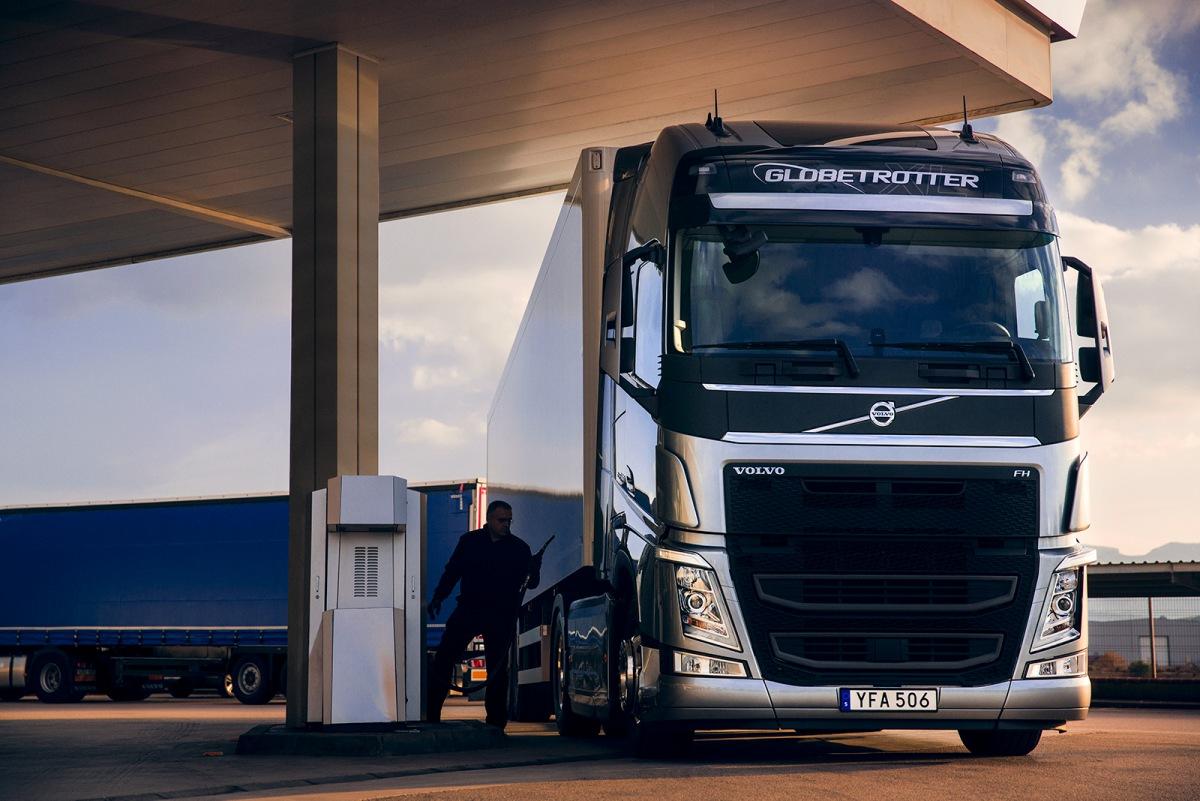 Volvo FH se systémem I-Save