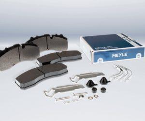 Nové brzdové destičky pro nákladní vozy od MEYLE-PD