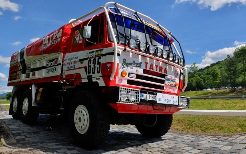Tatra Mogul Dakar Setkání v Sosnové