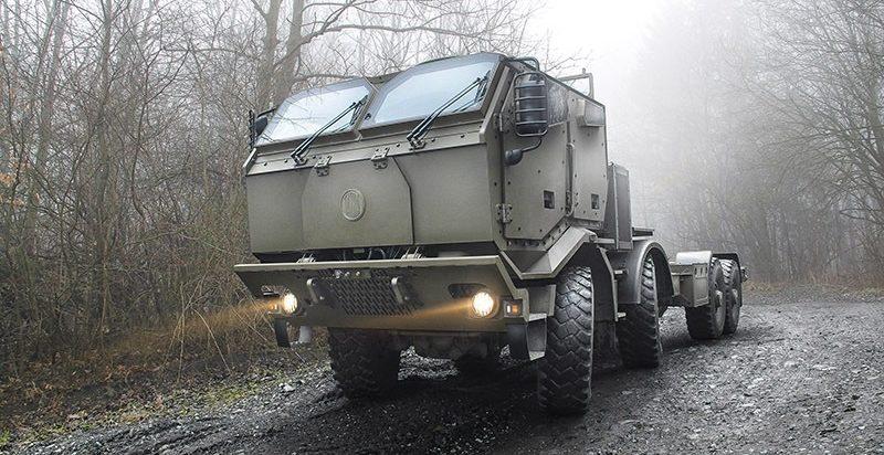 Vojenské speciály od Tatra Trucks