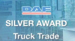 DAF Silver Award Truck Trade